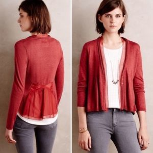 NWT Anthropologie  Angel Of The North Cardigan